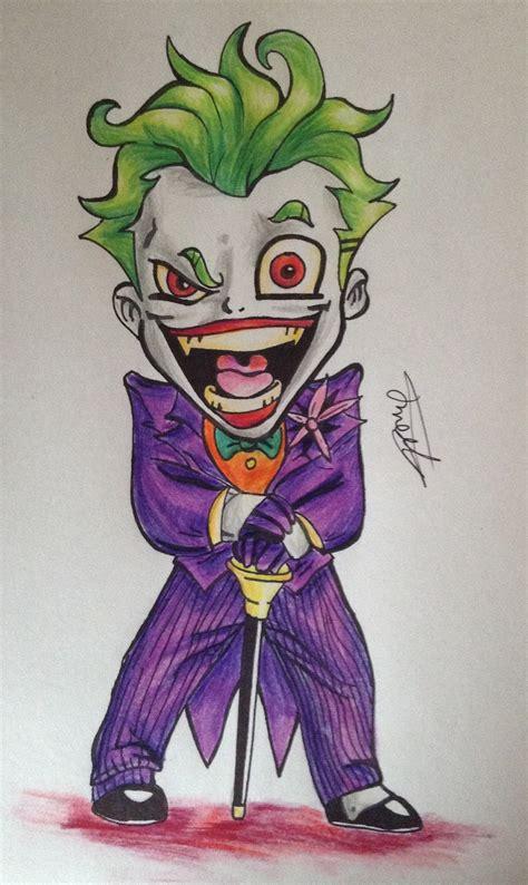 joker cartoon  cyerwolf  deviantart