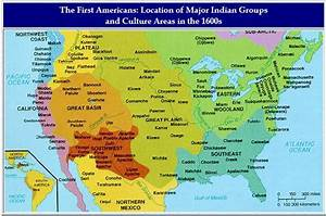 Native American Locations In 1600 Native Americans