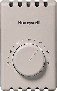 Thermostat  Manual Heat Only 4-wire