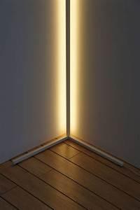The Corner Bright Light  Freestanding Floor Lamp Designed