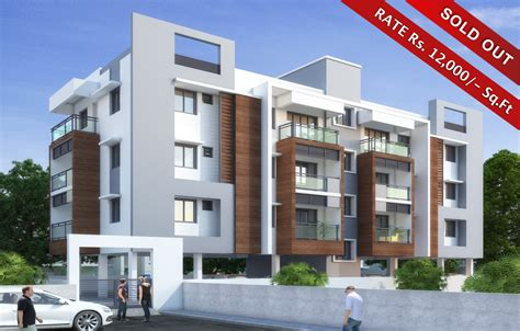 Modern Apartment Building Elevations Design 2 24 Unit