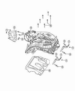 2017 Ram 3500 Plenum  Intake Manifold  Engine  Vvt