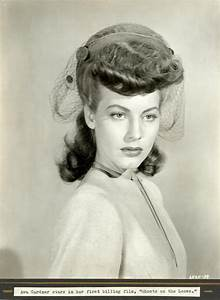"""Young Ava Gardner """"Ghosts on the Loose"""" publicity 