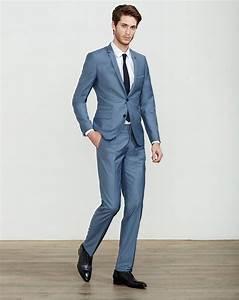 Costume Mariage Homme Gris : costume bleu gris hommetendance menssuits modehomme couleur costume pinterest ~ Mglfilm.com Idées de Décoration