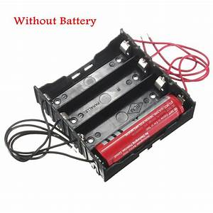 1  5pcs Aa  Aaa  18650 Cells Case Battery Cover Holder Connector Box  Wire Lead