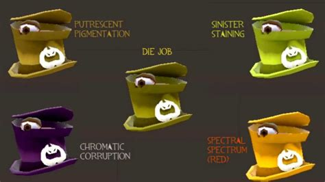 Halloween Spells Tf2 Footprints by Tf2 Halloween Spell Paint Color Compilation On
