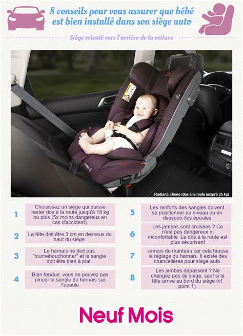 bebe neuf siege auto l 39 infographie qui nous dit tout sur le siège auto afin de