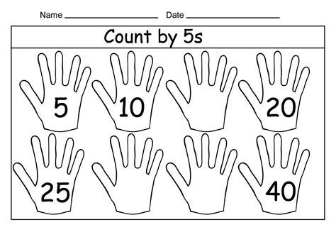 counting by 10s worksheet kindergarten 1st grade math