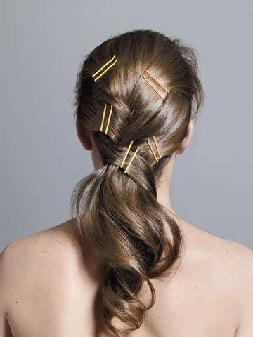 cross hairs bobby pin hairstyles real simple