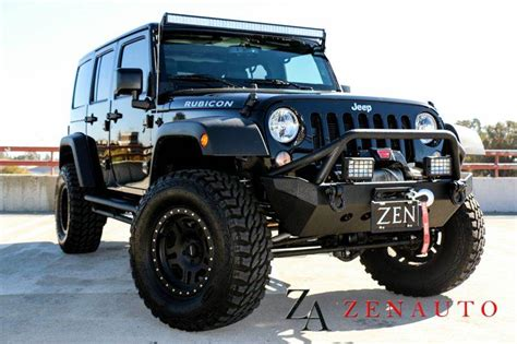 modified 4 door jeep wrangler 2015 jeep wrangler unlimited rubicon 4x4 4dr suv 4 door