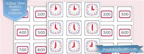 clock printable treatscom