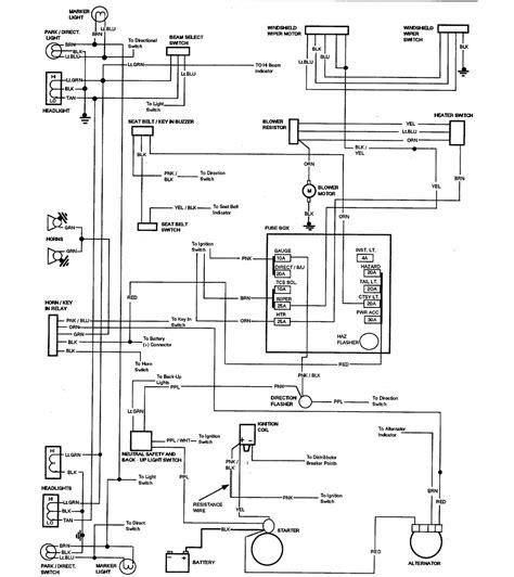 Chevrolet Camino Wiring Diagram Part
