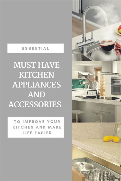 Must Have Kitchen Appliances & Accessories  Tammymum