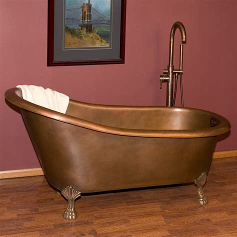 copper claw foot tub norah copper slipper clawfoot tub bathroom