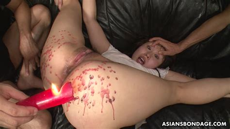 Wax Torture For A Sex Addicted Asian Whore Eri Makino