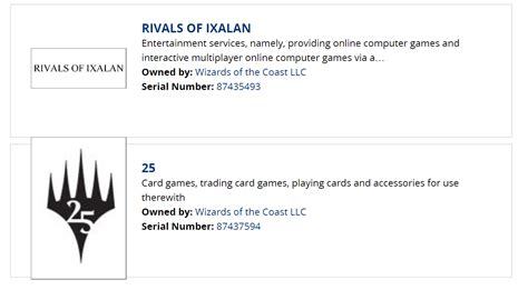 Magic The Gathering 25th Anniversary Set And Rivals Of