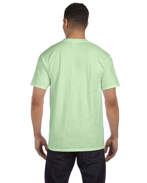 comfort colors t shirts comfort colors shirt t 6 1oz pocket mens sleeve