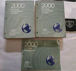2000 Ford Explorer    Mercury Mountaineer Service Manuals