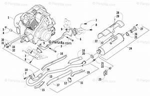 Arctic Cat Atv 2007 Oem Parts Diagram For Engine And
