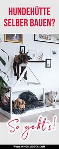 Haustiere Für Die Wohnung : diy hundeh tte f r die wohnung selber bauen einfache diy deko ideen pinterest hunde ~ Frokenaadalensverden.com Haus und Dekorationen