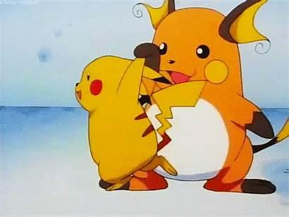Pikachu Dancing Raichu Pokemon Dance Pichu Gifs