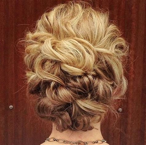 Curly Updo Hairstyles by 40 Creative Updos For Curly Hair