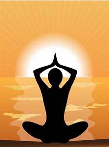 Meditation design elements vector graphics Free vector in ...