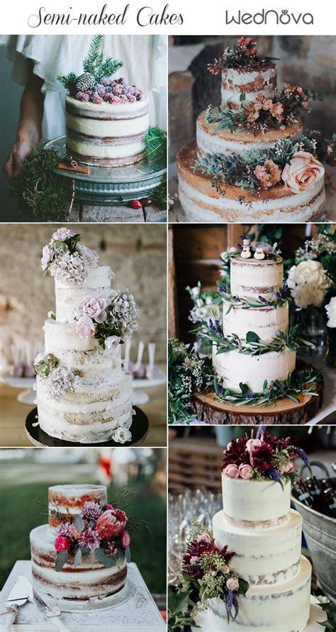 top  semi naked wedding cakes weve   wednova blog