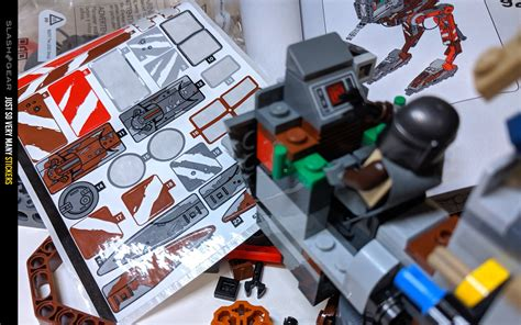 Star Wars: The Mandalorian AT-ST Raider LEGO Review ...