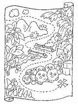 Coloring Treasure Preschool Printable Maps Map Pirate Pirates Craft Marks Spot Sheets Cornelius Fantasy Printables Adventures Adult Wizard Adventure Letscolorit sketch template