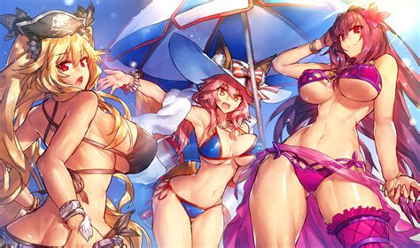 animal ears anne bonny bikini fategrand order fate