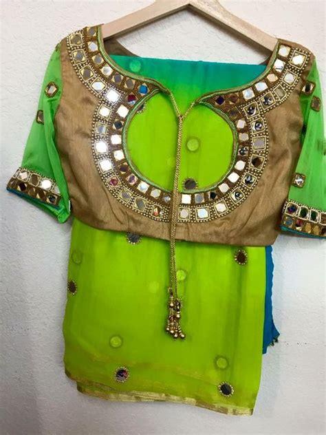 latest blouse designs   neck patterns