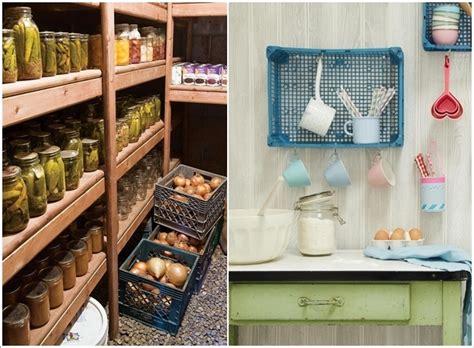 reciclar cajas de plastico decoracion de interiores