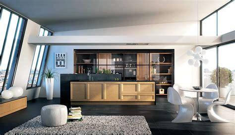 cuisine equipee cuisine equipee bois brut maison moderne