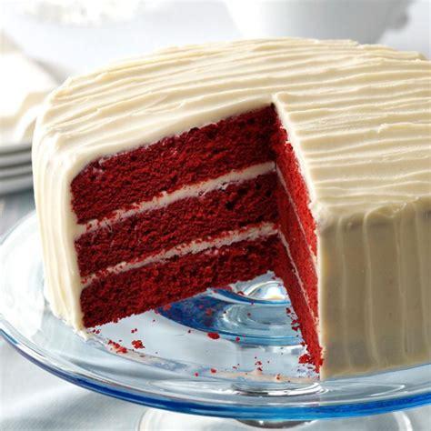 classic red velvet cake recipe taste  home