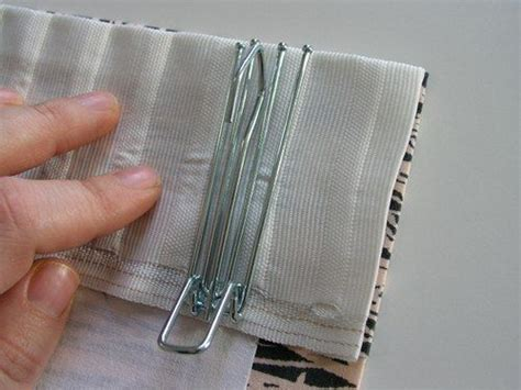diy pinch pleat drapes for the home pinterest hooks