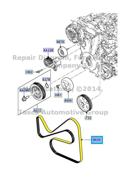 new oem engine drive belt 2011 13 ford transit connect 2 0l engine bt1z 8620 a ebay