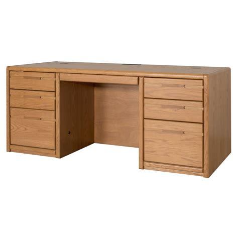 medium oak computer desk computer desk home office furniture workstation table 68