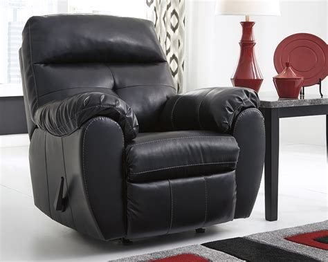 Midnight Black Casual Contemporary Living Room Furniture