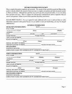 free printable divorce papers form generic With divorce documents nj