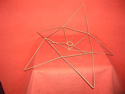 abat jour origami carcasse abat jour origami en forme etoile carcasse abat