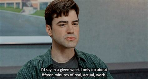 Office Space Just A Moment Gif by Office Space Quotes