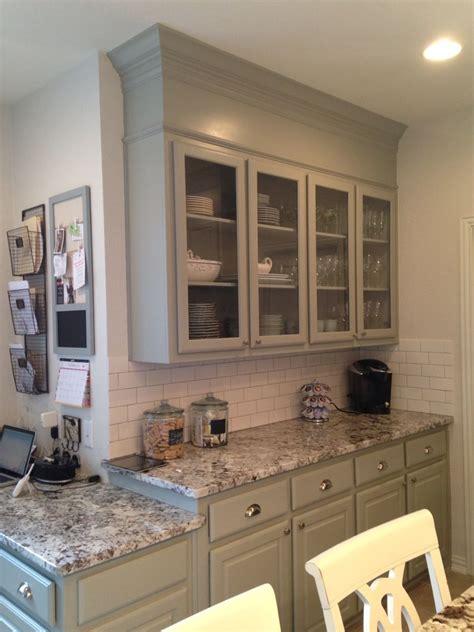 builder grade remodel diy cabinets benjamin moore