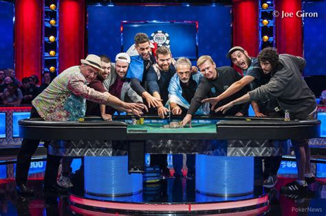 wsop main event final table 2017 2017 wsop main event final table is set poker casino