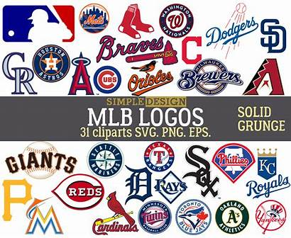 Mlb Baseball Logos Team League Svg Major