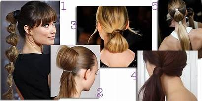 Ball Hairstyles Puff Ponytail Tail Horse Hairs