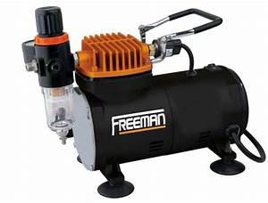 Accessoire Pour Compresseur D Air : freeman mini compresseur d 39 air pour a rographe freeman ~ Edinachiropracticcenter.com Idées de Décoration