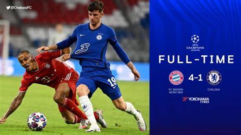FT: Bayern Munich 4-1 Chelsea, Bayern Progress With A 7-1 ...