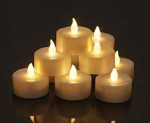 Bougie Chauffe Plat : lot de 6 bougies led chauffe plat blanches noel ~ Teatrodelosmanantiales.com Idées de Décoration