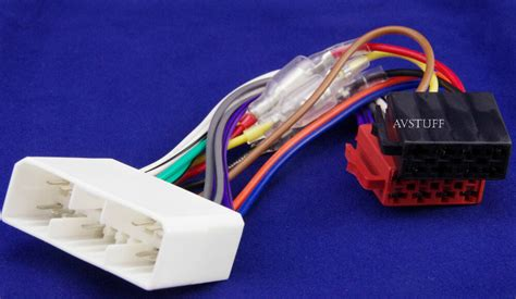 iso wiring harness loom plugs holden commodore vt vx monaro car stereo radio ebay